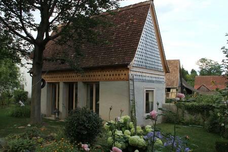 Bijou residence in a farmersgarden