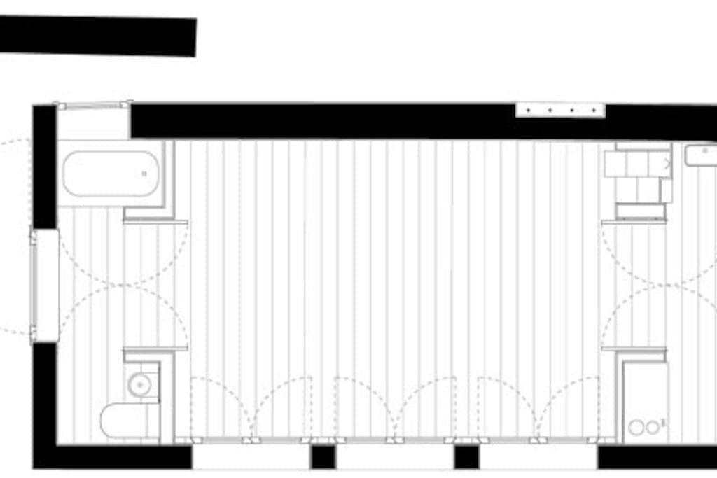 Groundplan of groundfloor.