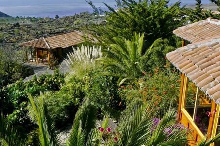 Seaview chalet in tropical garden - Chalet