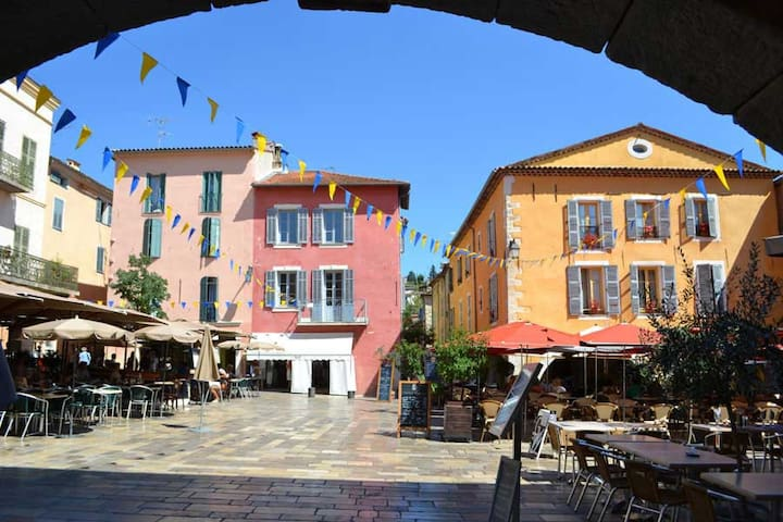Private Apartment with Balcony - Valbonne - Wohnung