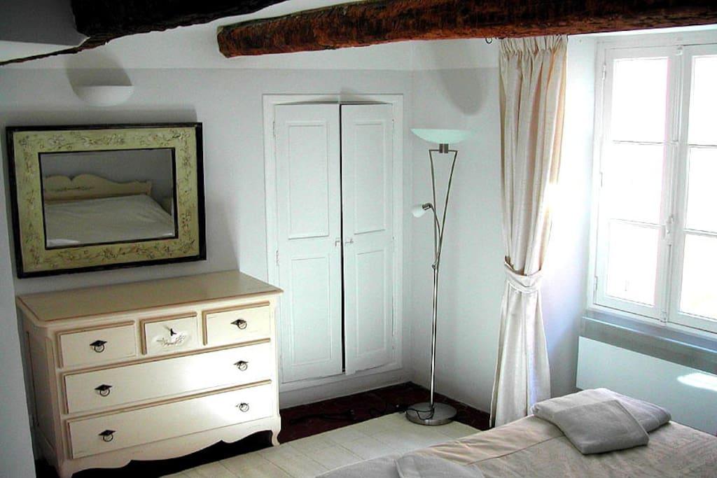 Luxury double bedroom with en-suite bathroom