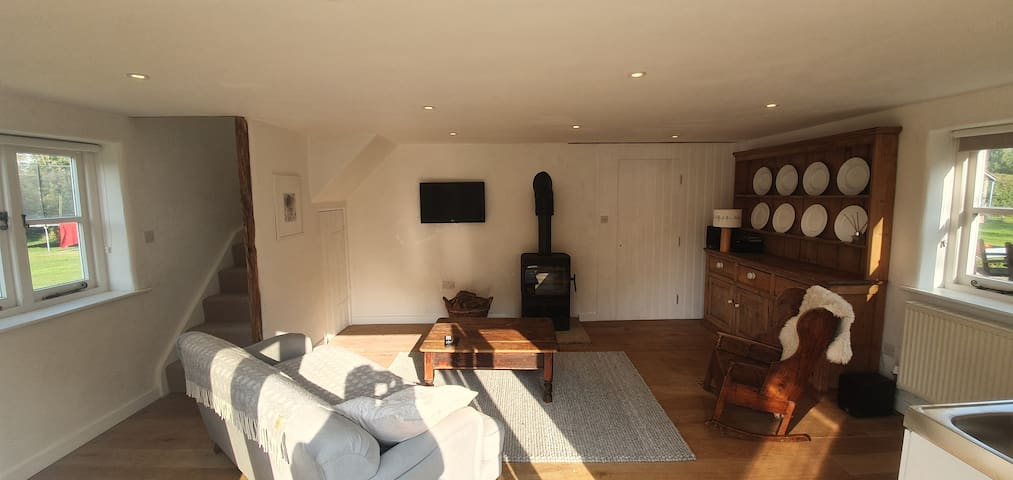 Self contained annexe in the Vale of Belvoir.