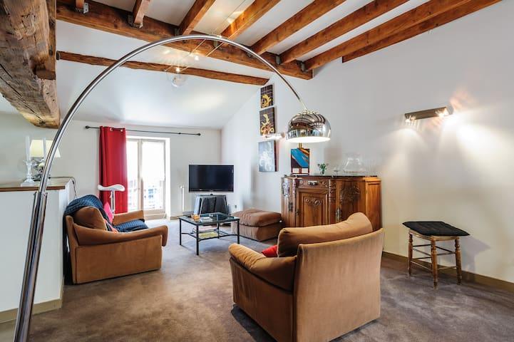 le clos des jardiniers - Villefranche-sur-Saone - Apartament