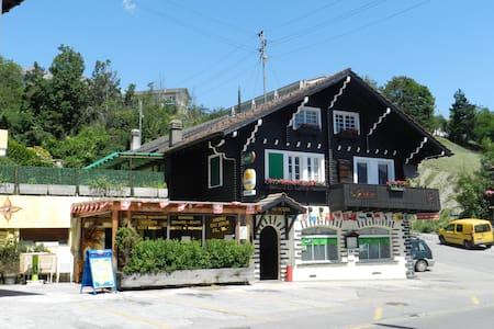 Café-Rest.du Soleil BnB Chambre 1 - Ayent