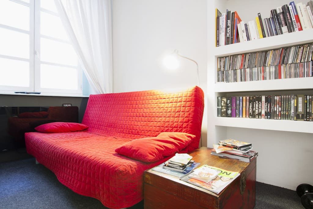 Update : je dors sur le clic-clac ! / This sofa'll be my bed !