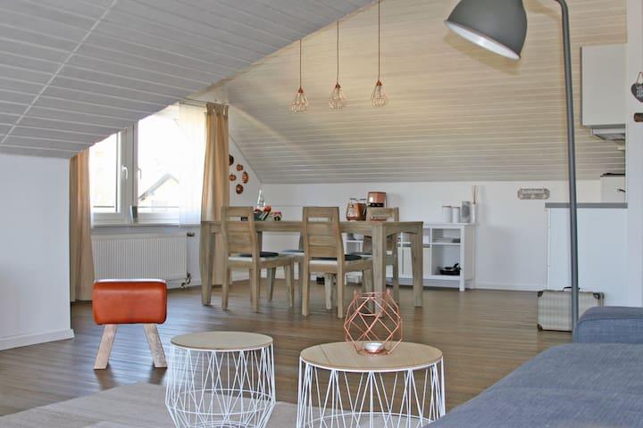 """Studio apartment """"FICHTELBLICK"""" with waterbed"""