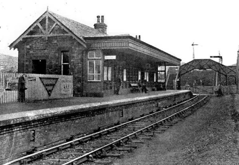 The station circa 1901