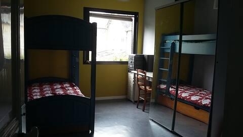 Chambre 3 personnes