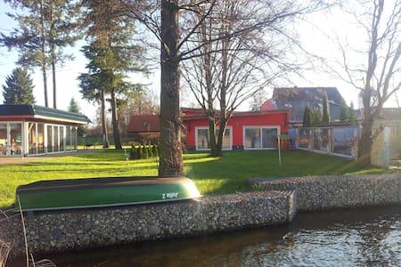 Ferienhaus direrekt am See mit Boot - 什未林 (Schwerin) - 其它
