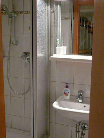Duschbad zur gemeinsamen Benutzung