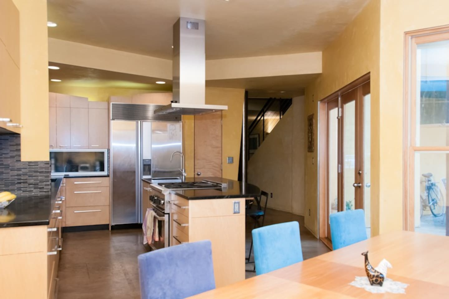 Gourmet Kitchen and Spacious Dining Room
