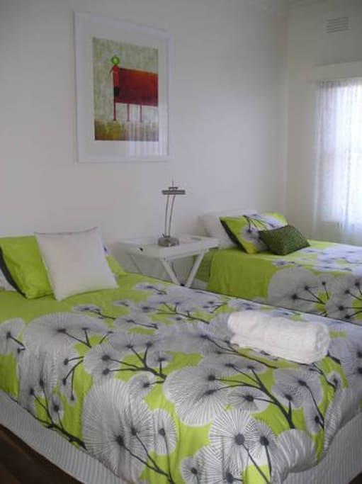 2nd Bedroom King Singles
