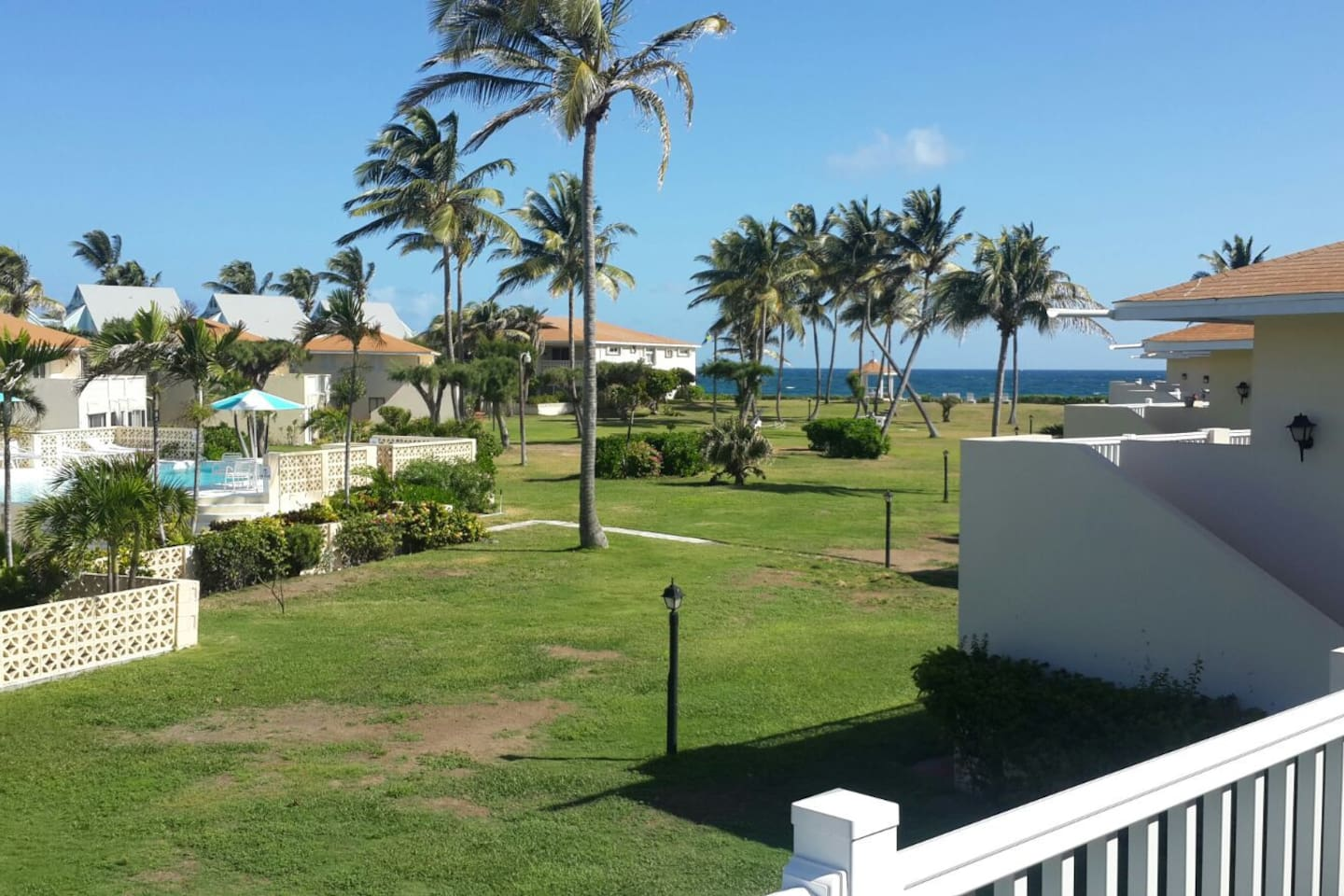 Enjoy oceanview from spacious patio of unit.
