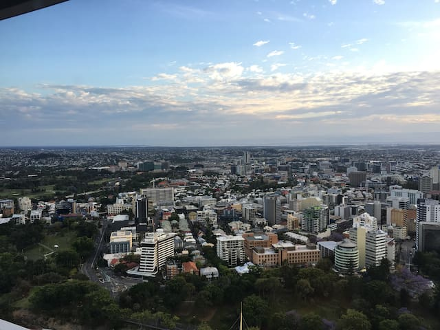 Beautiful view  in CBD 温馨的家,美丽的城市风景 - Brisbane - Apartamento
