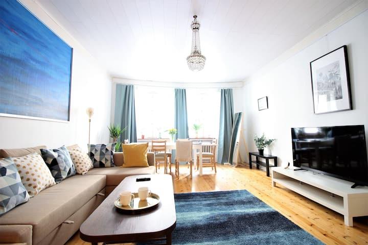62m2 Apartment in Quiet, Historical, Core Center