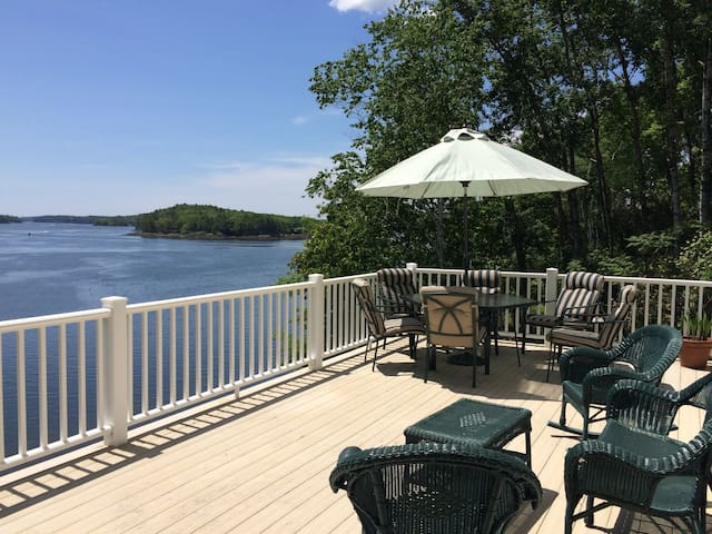 Mid-Coast Maine Waterfront - Edgecomb - Apartment