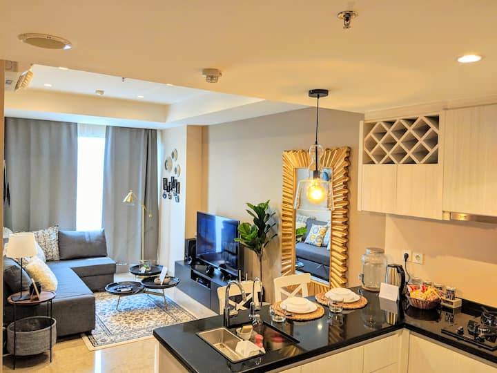 1BR Luxury APT AEON / ICE BSD City 5 ★ Facilities