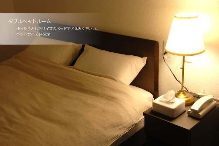 A few steps from Namba! Ideal for sightseeing or business! (スタンダードダブル)