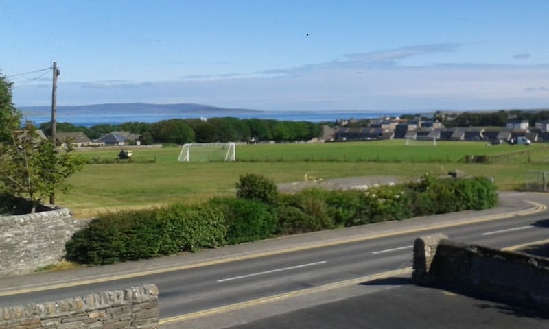 Newly built house with views over Kirkwall Bay