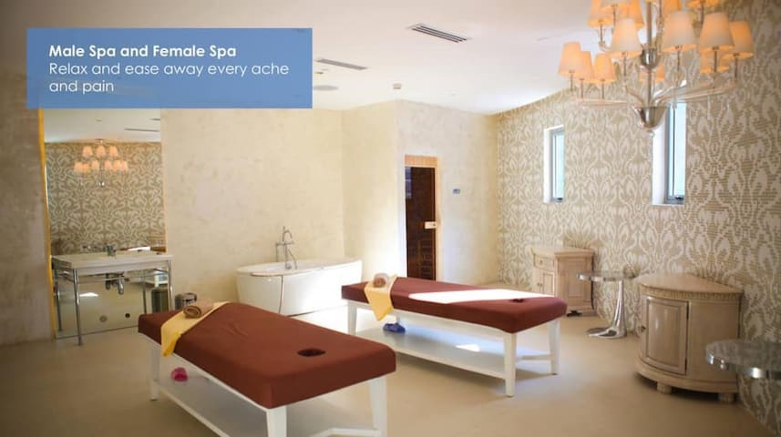 Saloon and Spa available