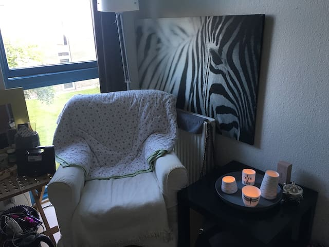 Cozy room with own bathroom - Hvidovre - Slaapzaal