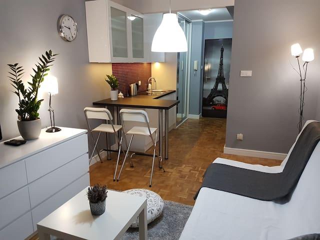 Apartament Grey - Warszawa - Appartement