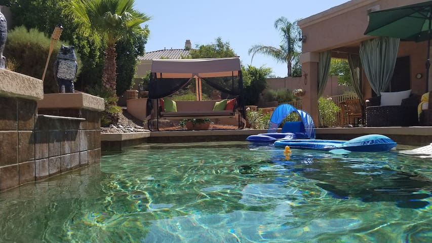 Phoenician Oasis,  Pool/Spa/Snacks & Garage