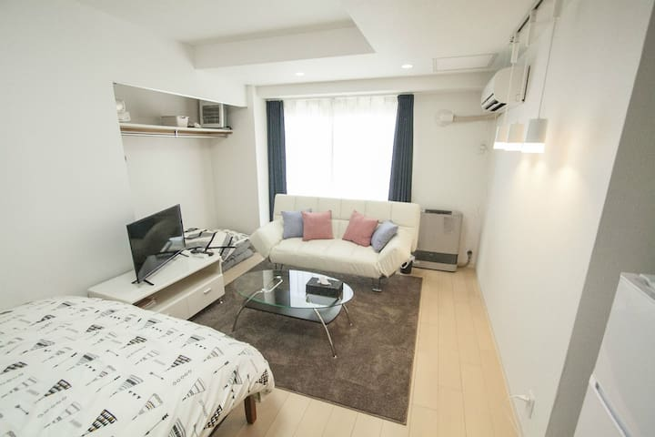 Easily accessible!/Close to  Odori Park/4ppl/WIFI