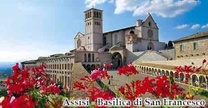 Assisi casa vacanza in complesso Carpe Diem
