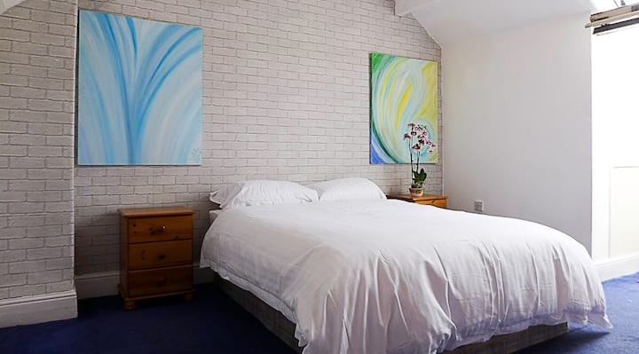 The Loft Double Bedroom Close To Sheffield City