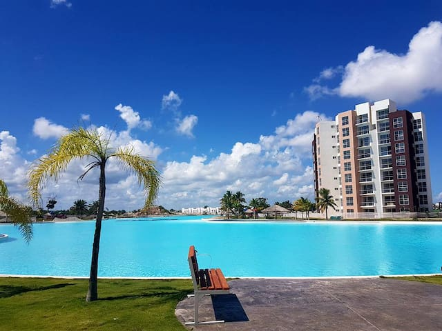Quiet and Family Friendly 2 Bdrm Apartment - Cancún - Appartement