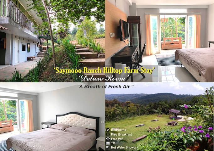 "Saymooo Ranch Deluxe Room ""Hilltop Farm Stay"""