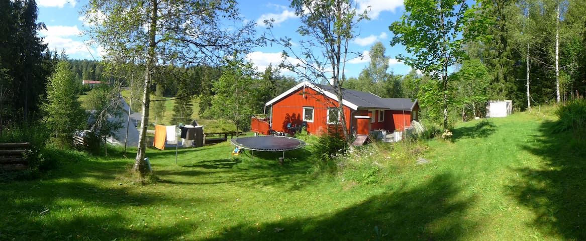 Peaceful forest house 1hr from Oslo & Sweden