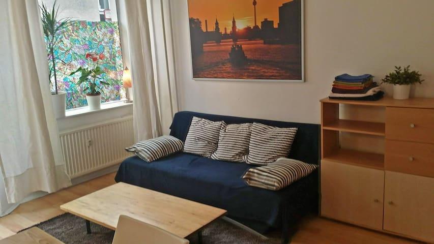 Gemütliche 60 qm Ladenwohnung mit 2 Schlafzimmern