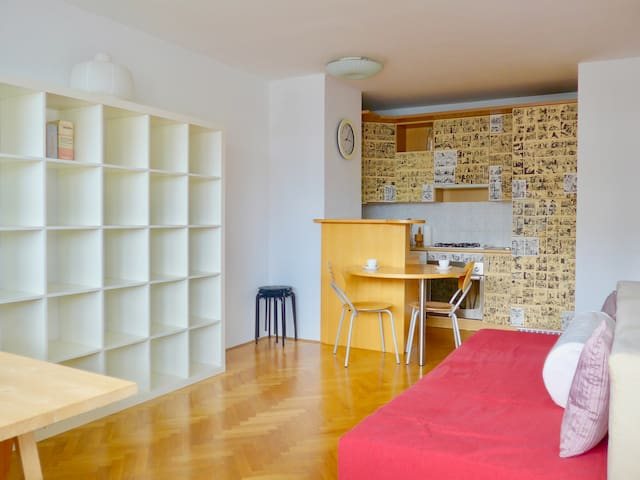 Cute & Sunny Apartment in the City Center