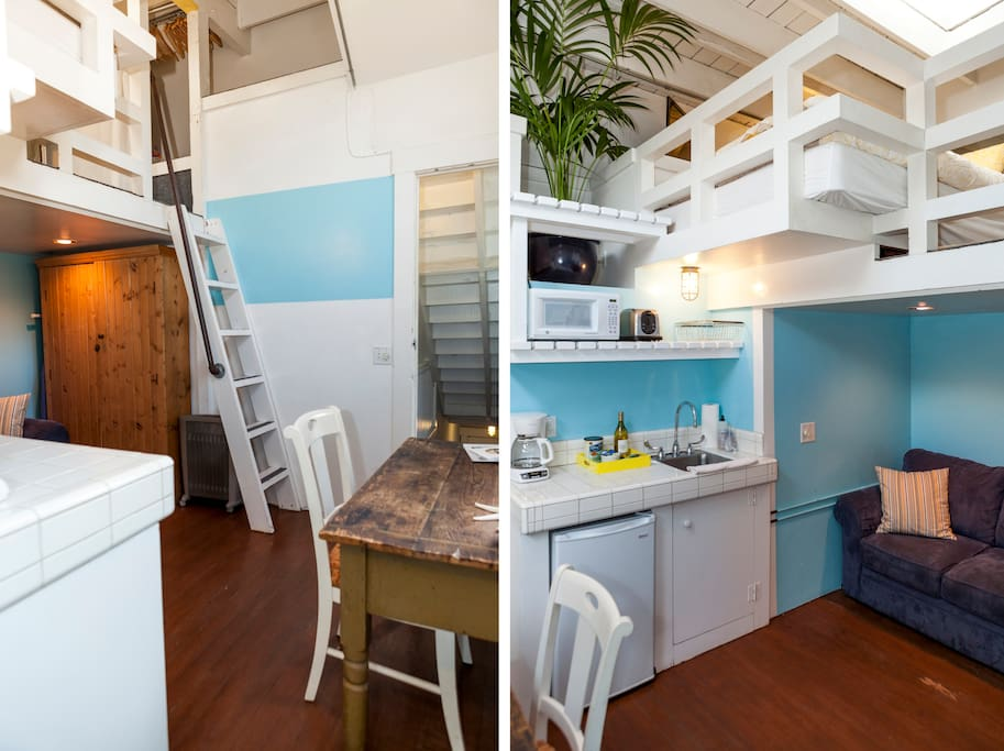 Bright Venice Loft, Steps to Beach!