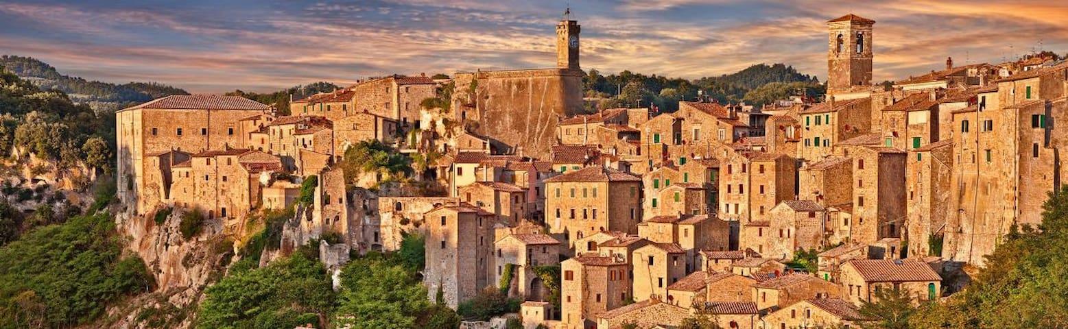 Harmony and relax in the hamlet of Sorano