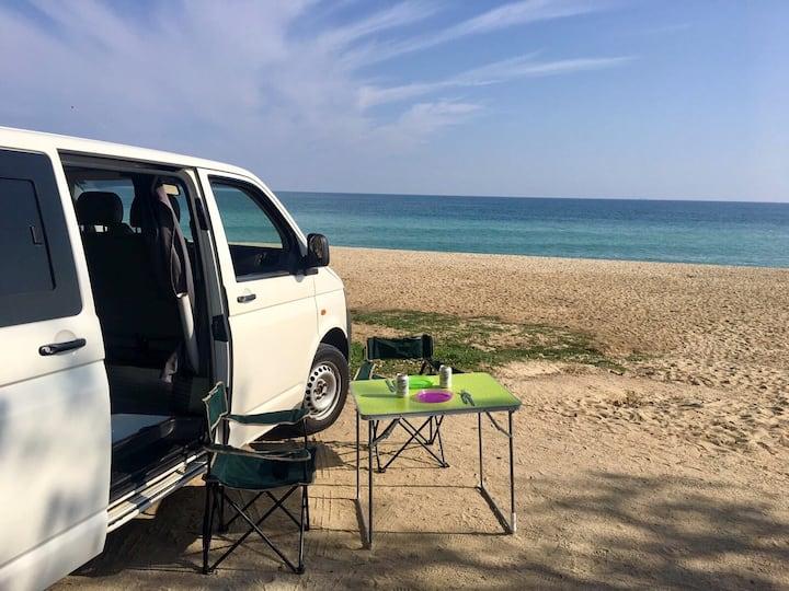 Furgoneta Camper con Aire Acondicionado Ibiza
