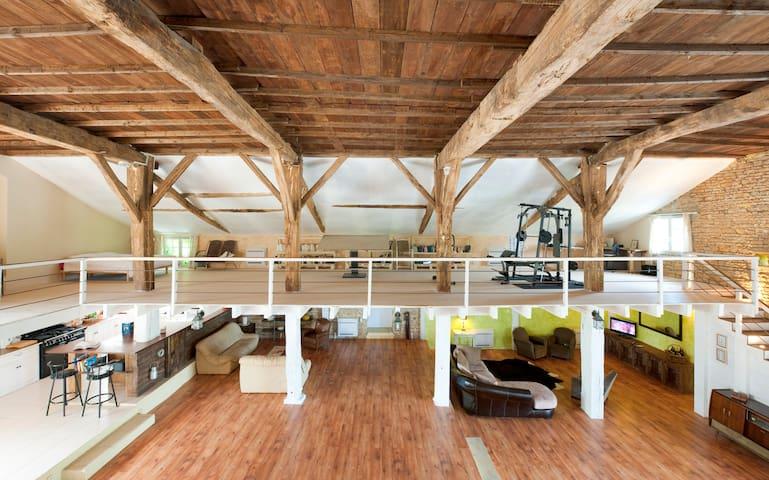 Loft in het groen in de Charente - Pleuville - House