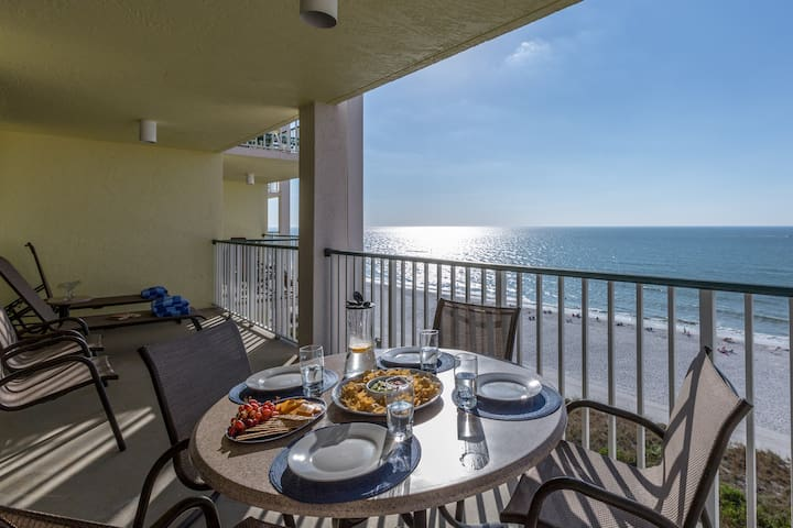 REDUCED 5/11 - 5/18  Beachfront condo- 3 bed