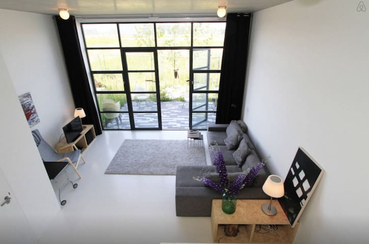 Luxury studio with FREE PARKING - Amsterdam - Byt