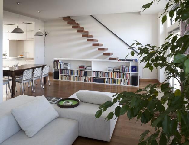 splendida stanza in loft centrale
