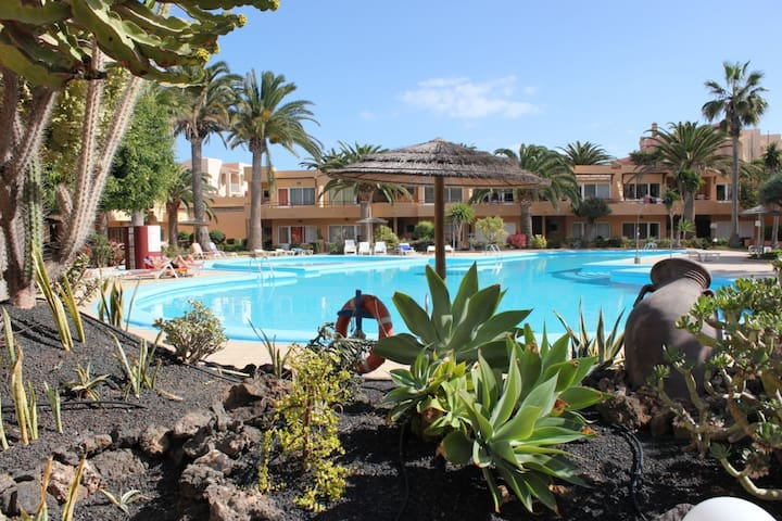 Corralejo Papaya Dunes Apartment with Pool