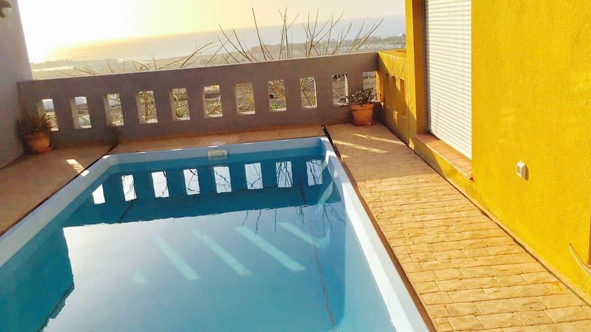 Habitacion en villa con piscina - Castillo Caleta de Fuste - Villa