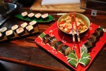 sushi available in our menu
