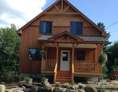 Bright and Comfortable Getaway in Elmore, VT - Wolcott - 独立屋