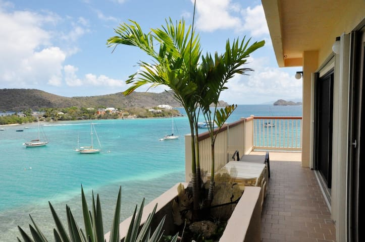 Oceanfront Apt with Panoramic Views - St. Thomas