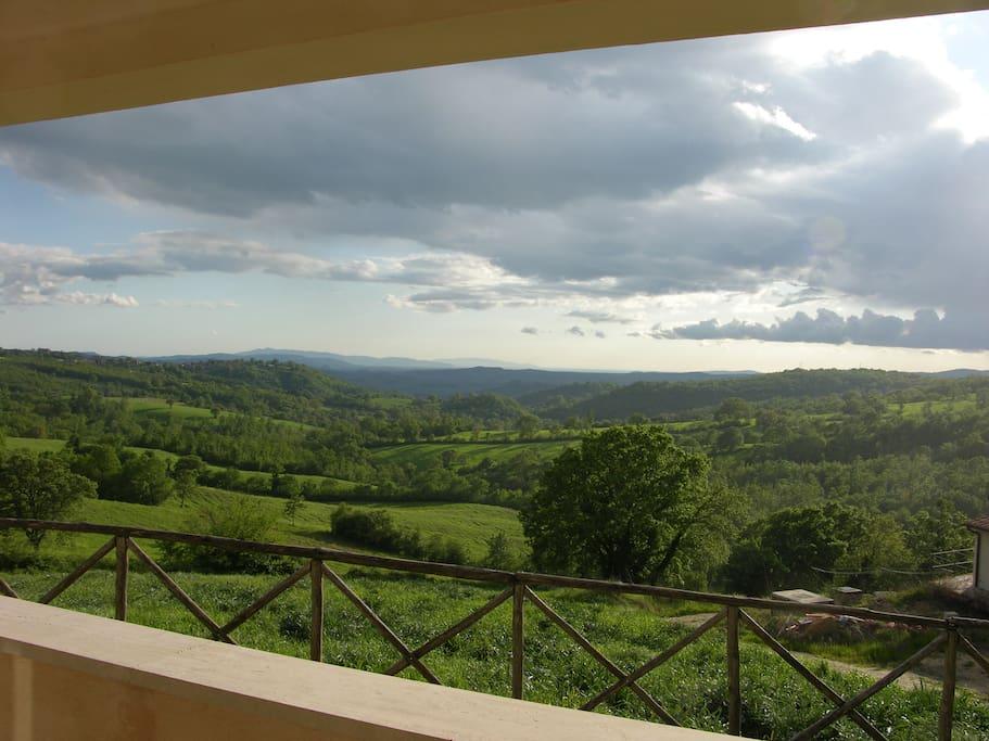 Panorama con Vista isola del Giglio