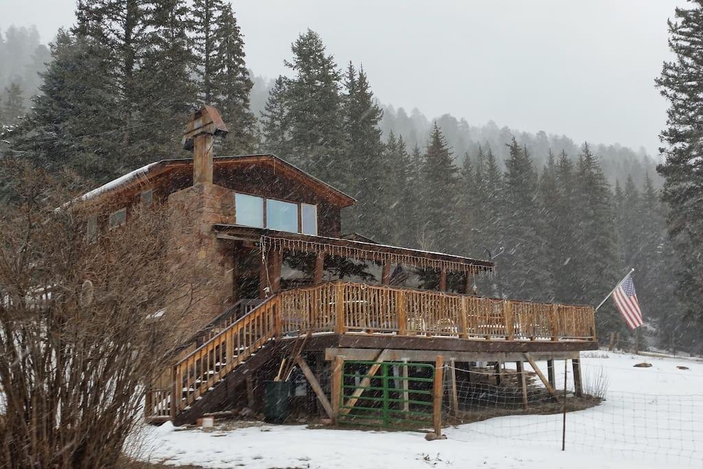 Lodge during Christmas :)