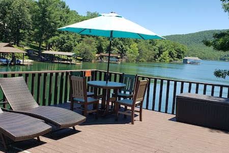 Promised Treasure-Cove-Party deck-Fire Pit-Hot Tub